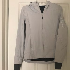 Mondetta White Hooded Jacket Sz S